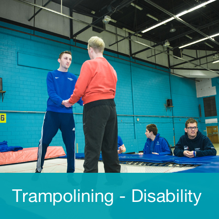 Trampolining Disability