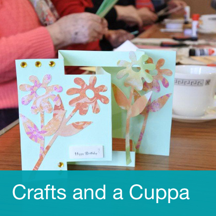 Crafts and a Cuppa