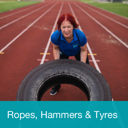 Ropes Hammers Tyres