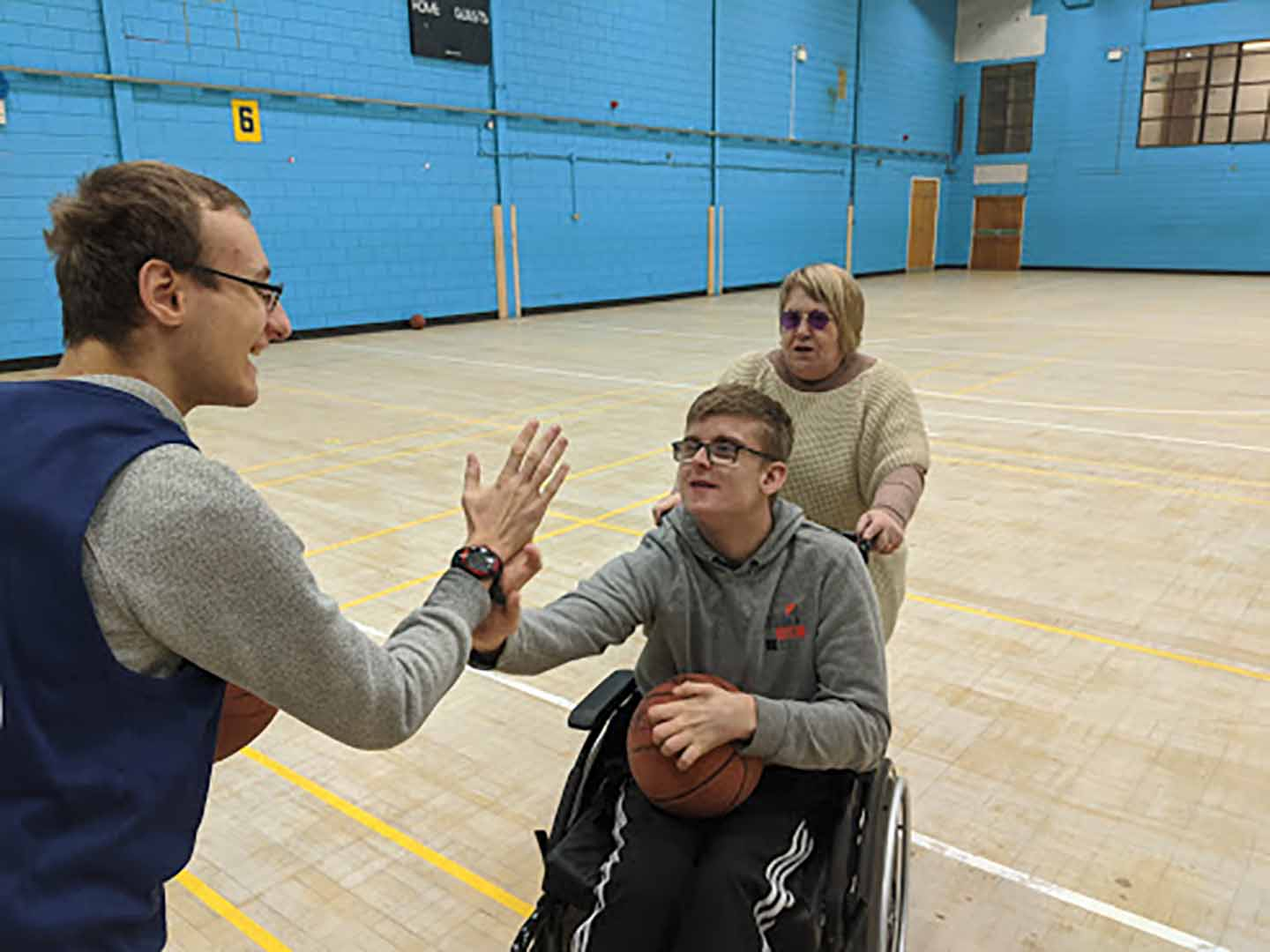Disability Basketball (Grimsby Leisure Centre)