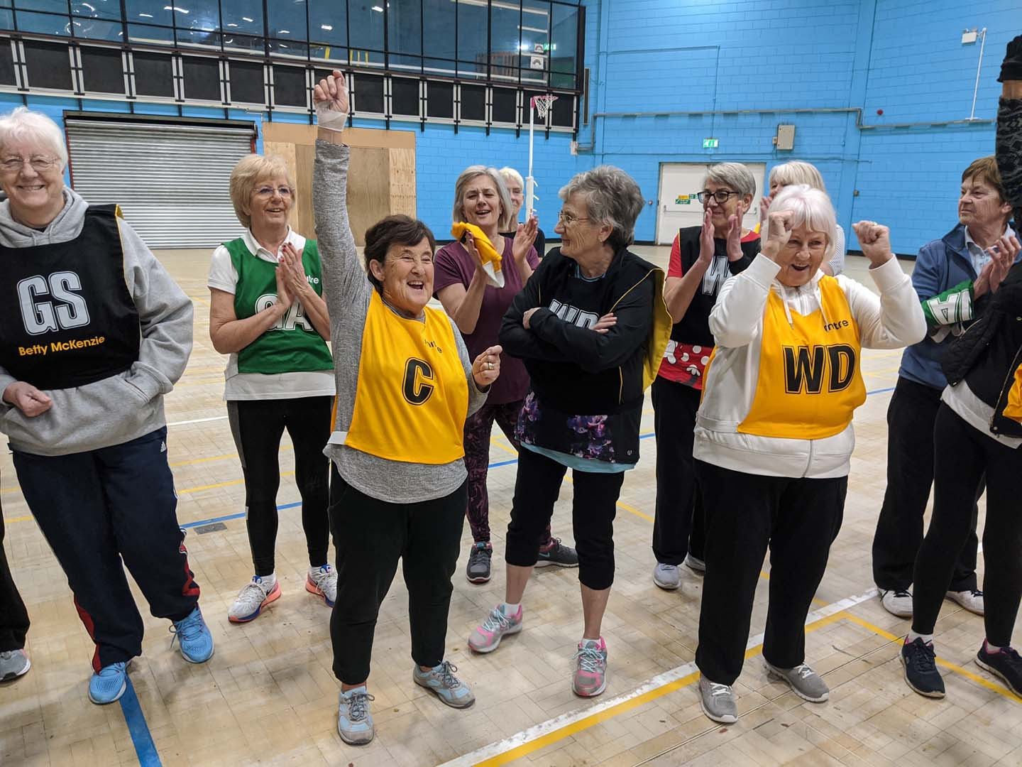 Walking Netball (Grimsby Leisure Centre)