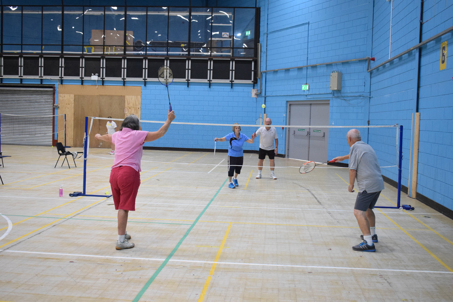 Over 50s Badminton (Grimsby Leisure Centre)